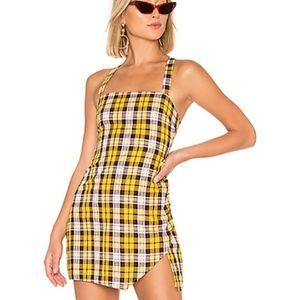 Plaid dress- Revolve